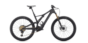 Specialized S-Works Turbo Levo SL 2020 Frontansicht in der Farbe Carbon / Black / Chrome