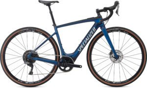 Specialized Turbo Creo SL Comp Carbon EVO 2021 Frontansicht in der Farbe Gloss Navy/ White Mountains