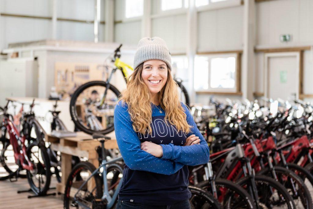 Jutta Schafroth Bikebox Innendienst Team Shoot