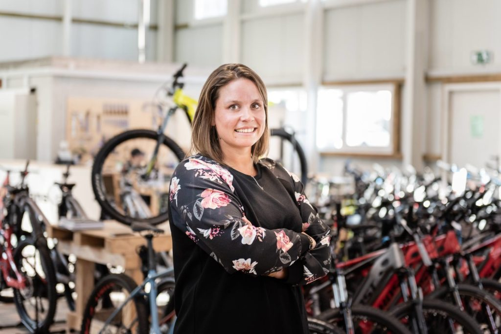 Sandra Kunz Bikebox Innendienst Team Shoot