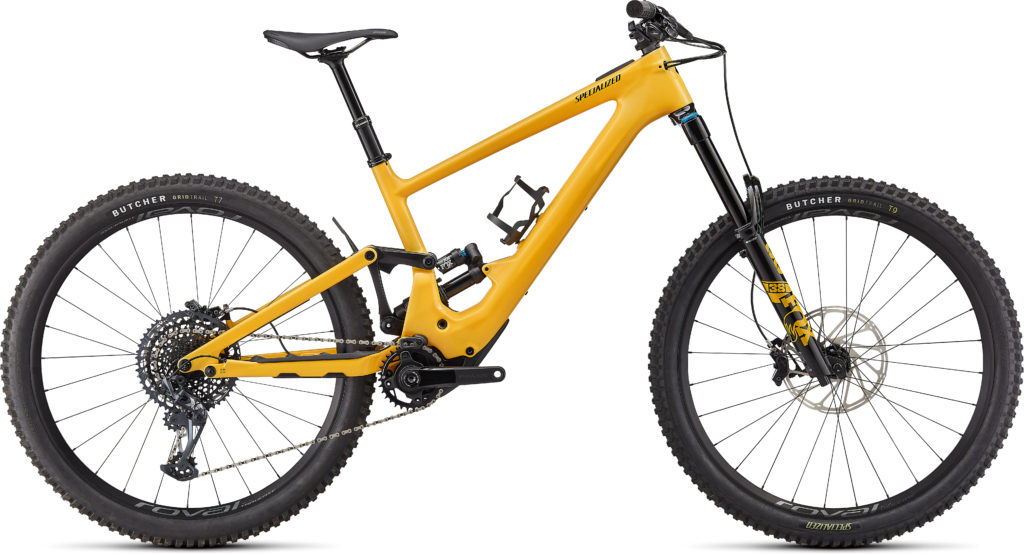 Specialized Turbo Kenevo SL Expert 2022 Frontansicht in der Farbe Gloss Brassy Yellow / Black